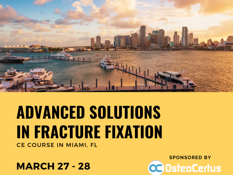 Advanced Solutions In Fracture Fixation